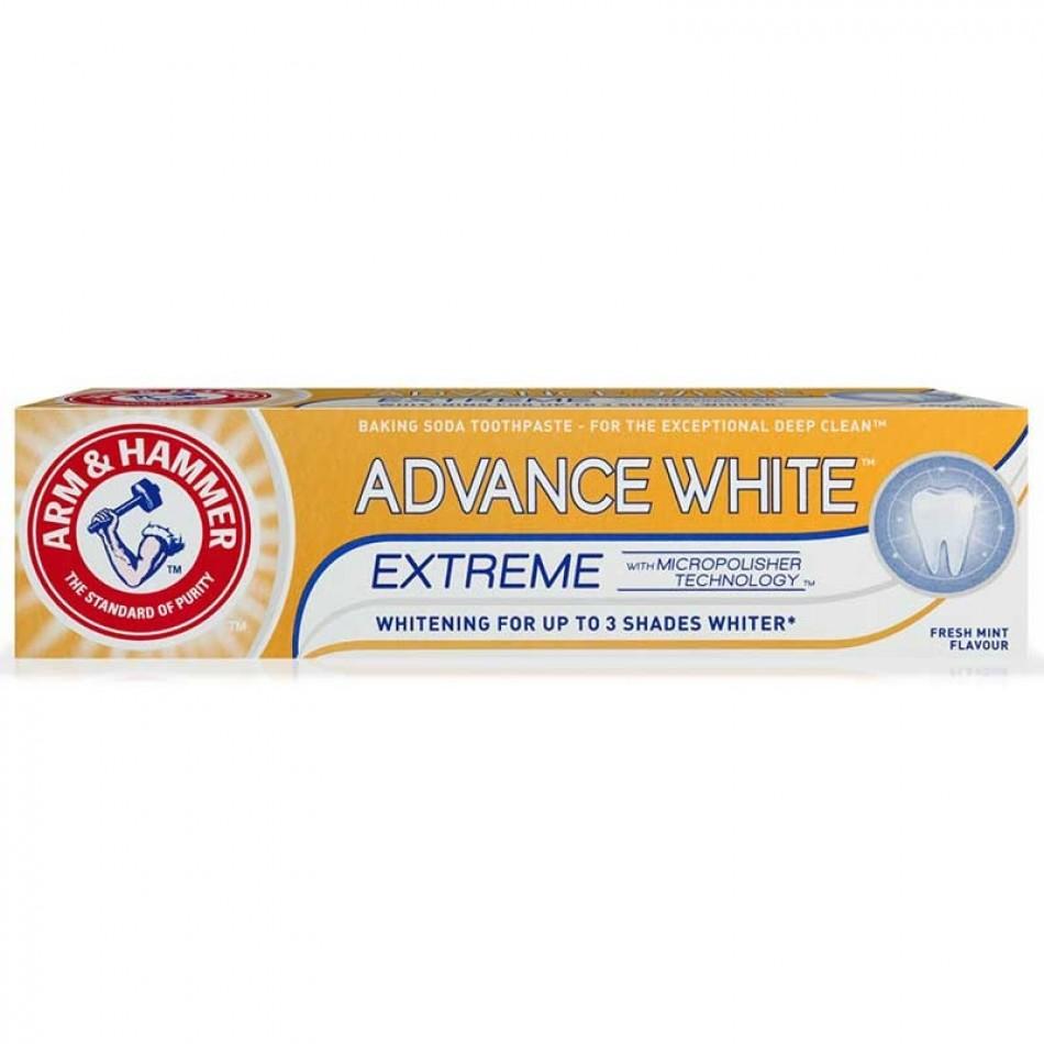 ARM & HAMMER ADVANCED WHITE 3 Tona Kadar Beyazlatıcı Diş Macunu